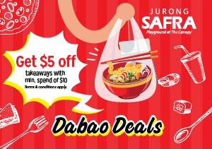 Dabao Deals @ SAFRA Jurong