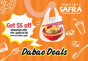 Dabao Deals @ SAFRA Tampines