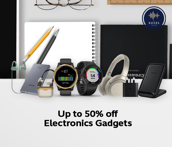 Up to 50� off Electronics Gadgets - 590x505 - (website)
