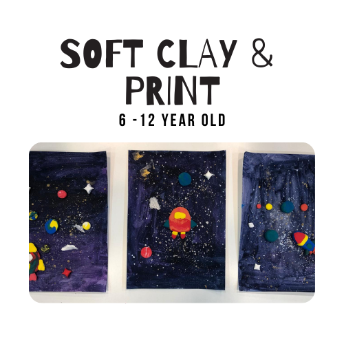 Soft Clay and Print 6-12