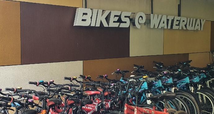bikes at waterway 690x370 v2