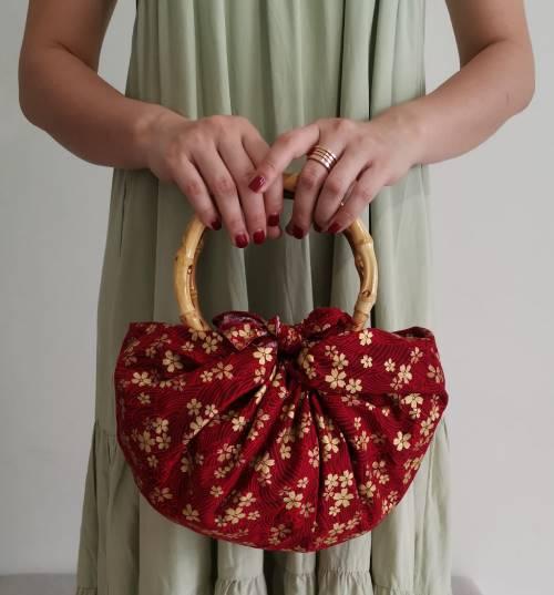 DIY Red Furoshiki Bag (2)