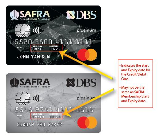 SAFRA Membership Expiry Date