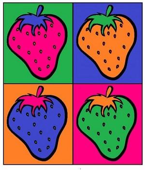 Andy-Warhol-Fruit-Pop-Art