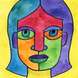 Picasso-Shapes-Portraits