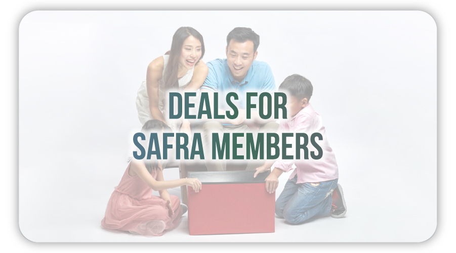 Deals for SAFRA Members