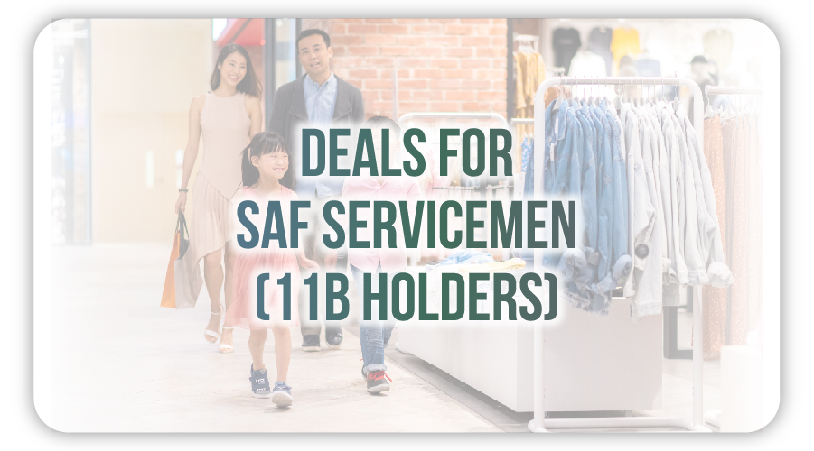 Deals for Servicemen (11B)